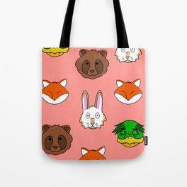 Peach KRFT Tote Bag