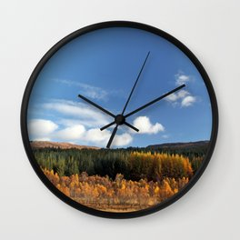 Had I the Heaven's embroidered cloths... Wall Clock