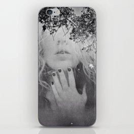 Soul - surreal dreamy portrait, woman nature photo, spiritual portrait iPhone Skin