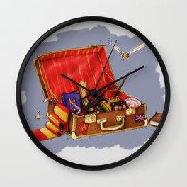 Magic Suitcase Wall Clock