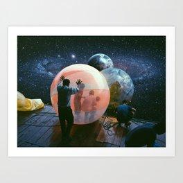 Cosmic Bubble Art Print