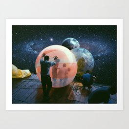 Cosmic Bubble Art Print