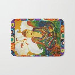 Buddha Circles Bath Mat
