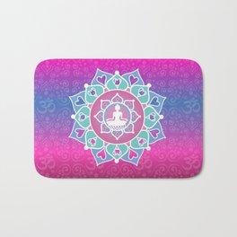 Buddha Lotus Bath Mat