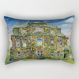 The Flowerhouse Rectangular Pillow