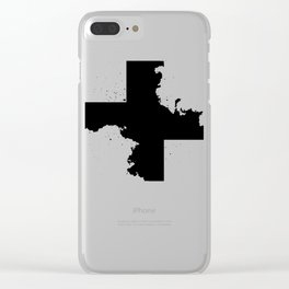 Across the shadow Clear iPhone Case