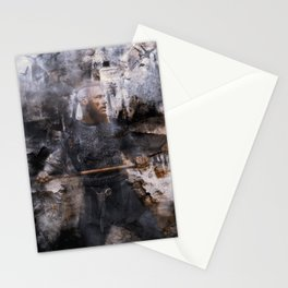 unconquerable ragnar Stationery Cards