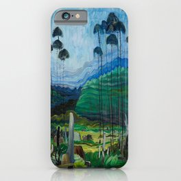 Emily Carr - Trees in the Sky - Canada, Canadian Oil Painting - Group of Seven iPhone Case