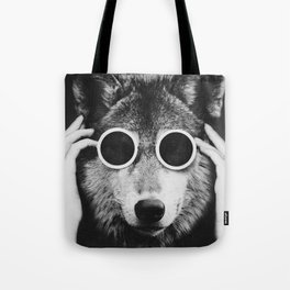 Wolf Glam Tote Bag