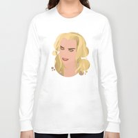 bad wolf Long Sleeve T-shirts featuring Bad Wolf by NeoQlassical