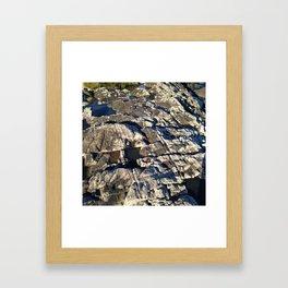 Bedrock Framed Art Print