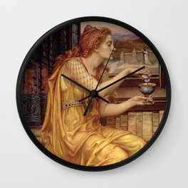 THE LOVE POTION - EVELYN DE MORGAN  Wall Clock