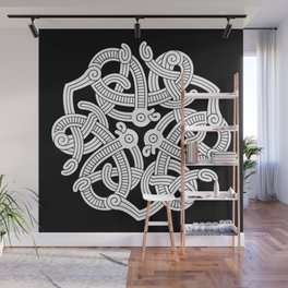 Jelling Style Ornament III Wall Mural