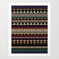Sienna BISQUE Art Print