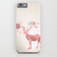 Flower deer iPhone 6s Slim Case