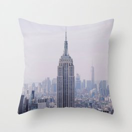Empire State Building – New York City Throw Pillow