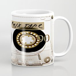 Transparant mix tape Retro Cassette Coffee Mug