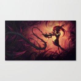Classic Zyra League Of Legends Canvas Print