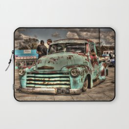 Rusty Chevrolet HDR Laptop Sleeve