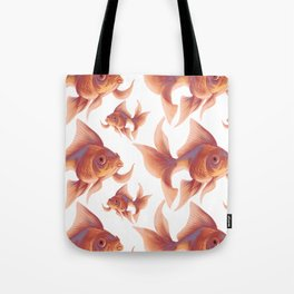Gold Fishes Tote Bag