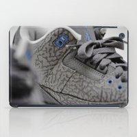 air jordan iPad Cases featuring Air Jordan Retro 3 GS by TJAguilar Photos