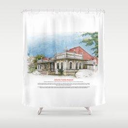 Jakarta Textile Museum Shower Curtain