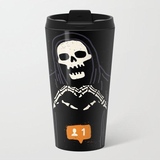 New Follower Metal Travel Mug