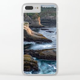 Cape Flattery Clear iPhone Case