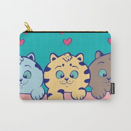 Cat Cute Carry-All Pouch