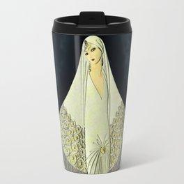 """June Bride"" Art Deco Illustration by Erté Travel Mug"