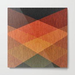Ethnic , abstract Metal Print