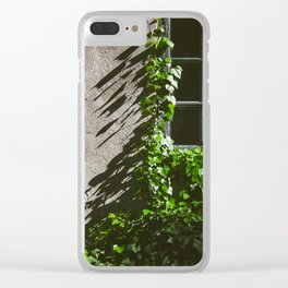 Greenleaves Clear iPhone Case