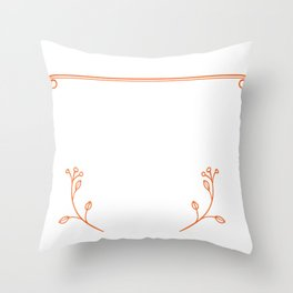 I am a firefighter. My job is to save your arse, not to kiss it Throw Pillow