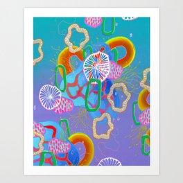 Alien Organisms 16 Art Print