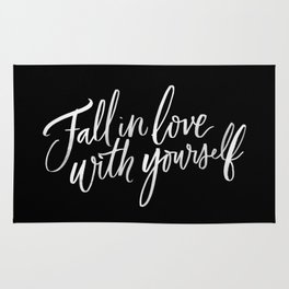 Fall in Love with Yourself Rug