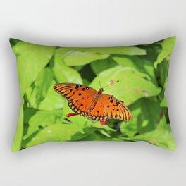Under the Willow Rectangular Pillow