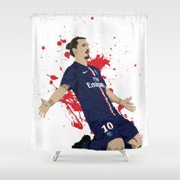 Zlatan Ibrahimovic - Paris SG Shower Curtain