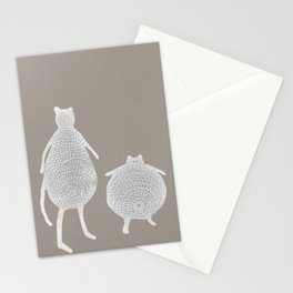 Friends and Fun go hand in hand. (Cats) Stationery Cards