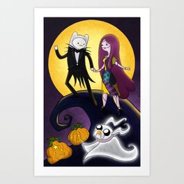 Nightmare Time Art Print