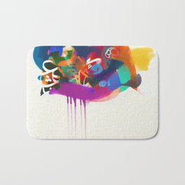 """Lost in Congestion"" - signed Bath Mat"