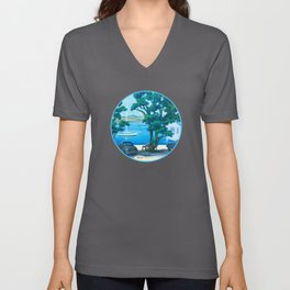 Of Boats and Summer Unisex V-Neck