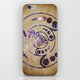 The Harmonious Circle  iPhone Skin