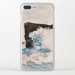 Crashing Wave Clear iPhone Case