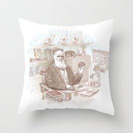 Endless Forms Most Battlefull Throw Pillow