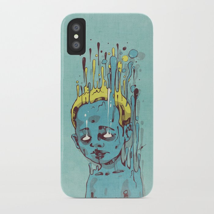 The Blue Boy with Golden Hair iPhone Case