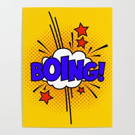 Boing ! Poster