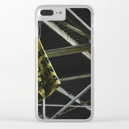Safety First Clear iPhone Case