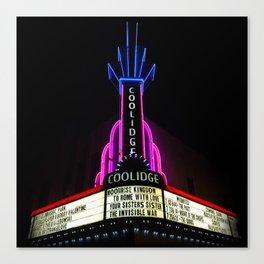Coolidge Corner Theater Marquee Canvas Print