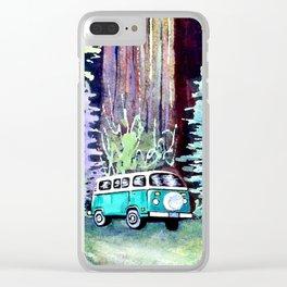 Camper Van Clear iPhone Case