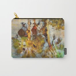 Palm Trees in Pond Carry-All Pouch